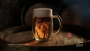Pilsner Urguell 170 years
